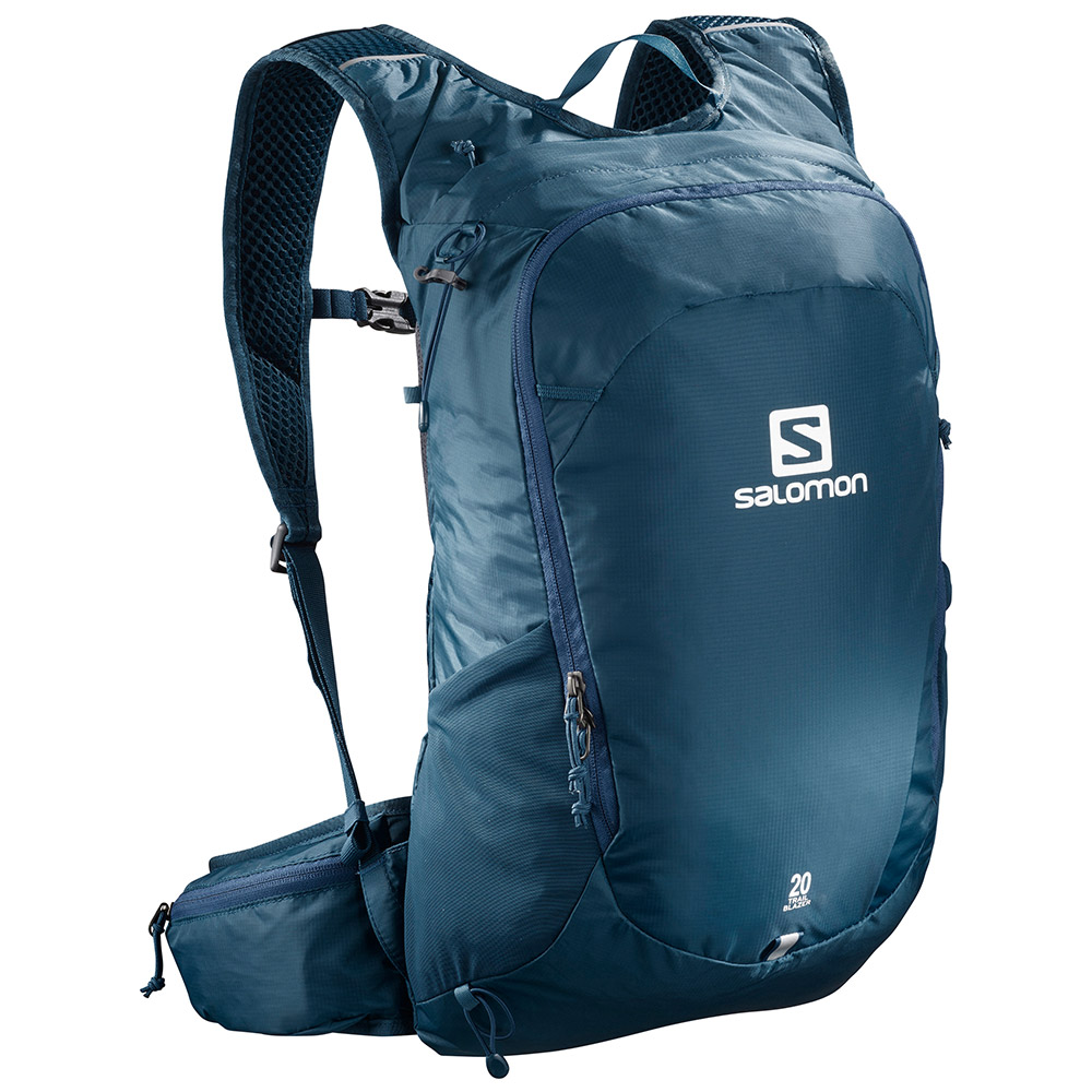 살로몬 SS19 트레일블레이저 20 SALOMON TRAILBLAZER 20 Poseidon/Ebony LC1084800